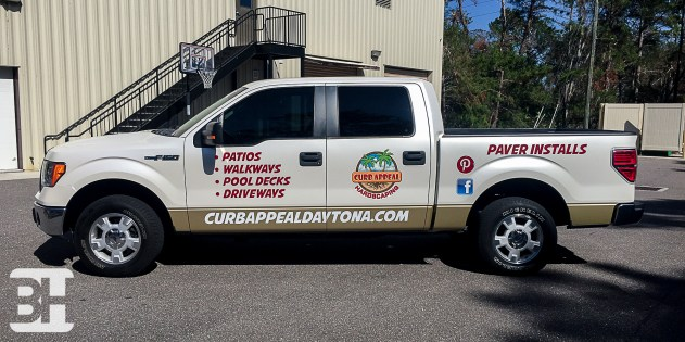 Color Change Vehicle wrap in Daytona and Ormond Beach