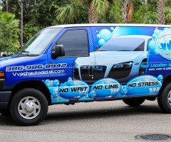 VVASH – Full Van Wrap
