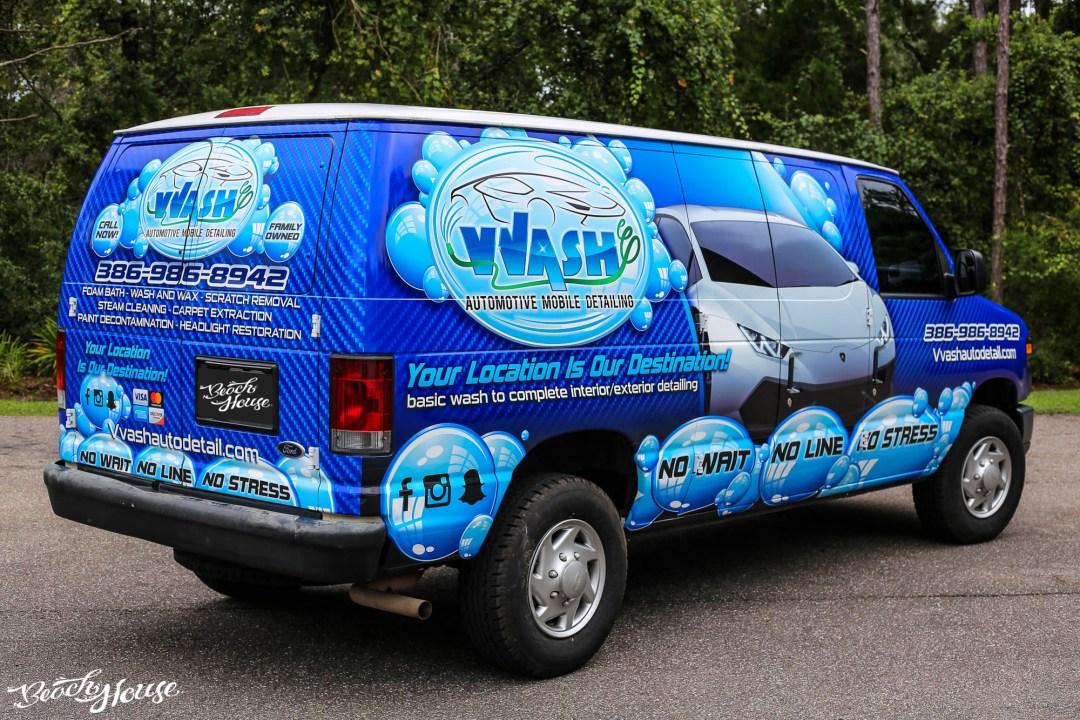 Van Wrap in Daytona Beach with Avery