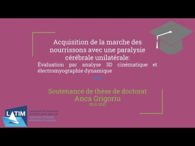 Acquisition de la marche des nourrissons avec une paralysie cérébrale unilatérale