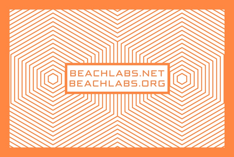 BeachLabs.net Business Card - Back