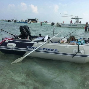 Peanut Island West Palm Beach Florida Sandbar Beach Boat
