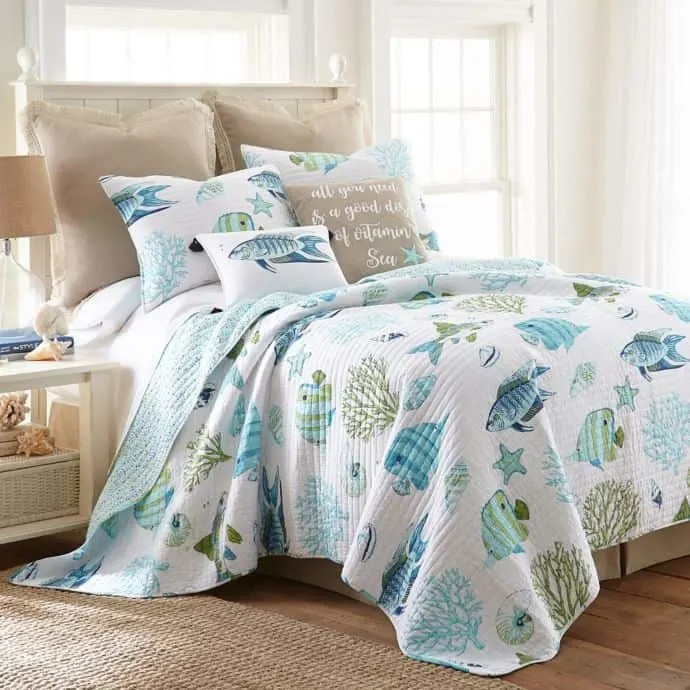The Best Coastal Style Comforters For Your Beach House - Beach House Bedding Ideas