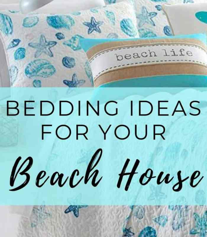 Bedding Ideas for your beach house - coastal decor