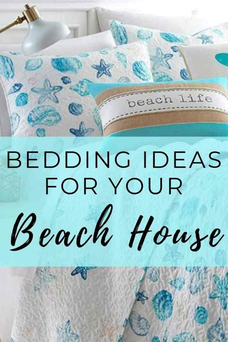 Bedding Ideas for your beach house - coastal decor