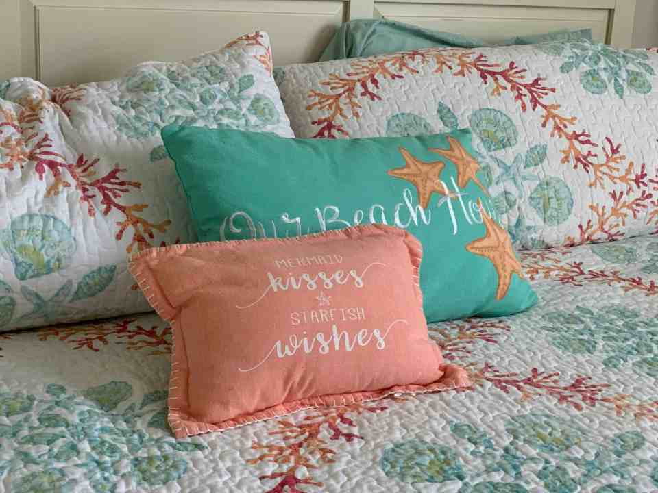 The Best Coastal Style Comforters For Your Beach House - Beach House Bedding Ideas - Peace and Teal