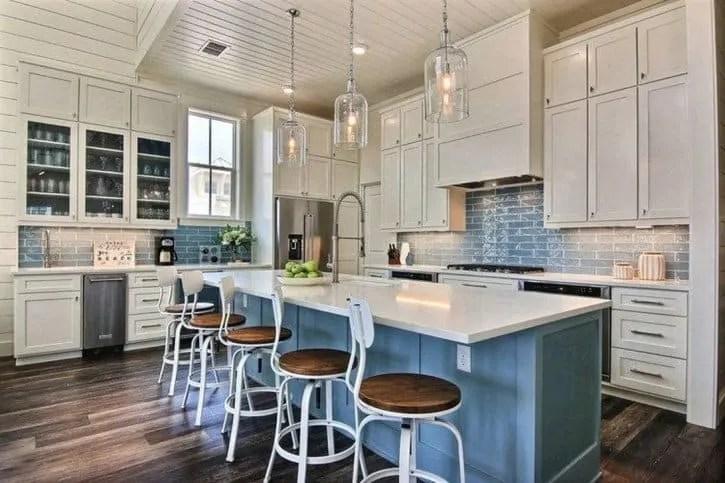 Beach House Kitchen Ideas - Beach House Kitchens - Coastal Style Decor & Design