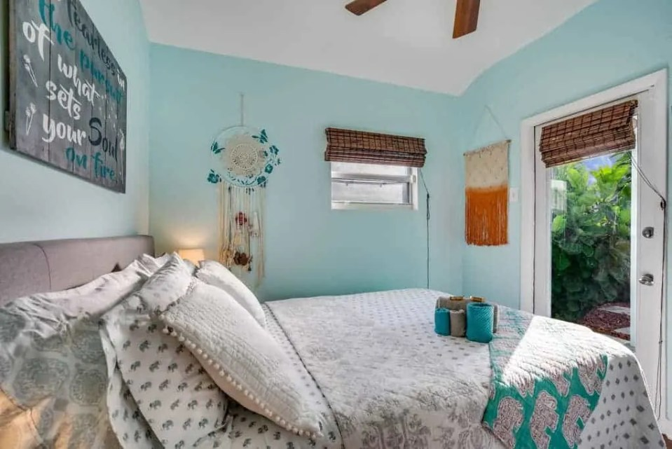 The Best Coastal Style Comforters For Your Beach House - Beach House Bedding Ideas - Teal Boho
