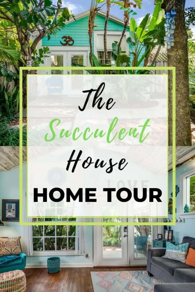 The Succulent House -  AirBnb in Lake Worth Beach, Florida House Tour - Coastal Decorating Ideas