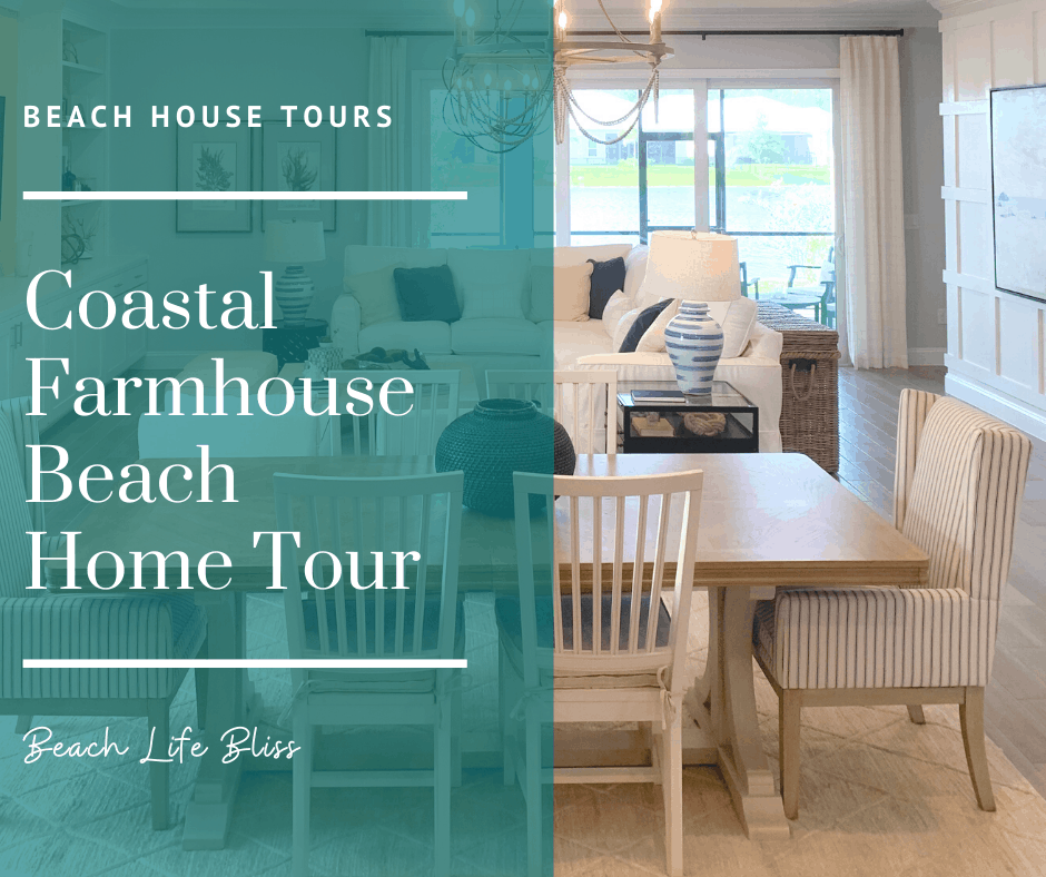 Coastal Farmhouse Beach Home Tour
