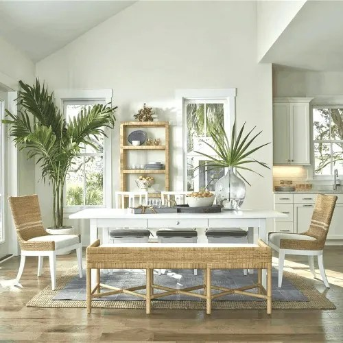 coastal farmhouse dining table ideas