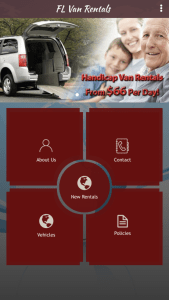 Florida Van Rentals Iphone App