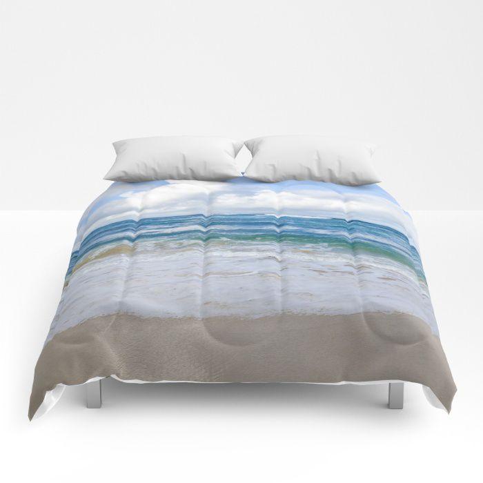 Hawaiian Ocean Comforter Sea Bedding Beach Coastal Style Full King Queen Sizes