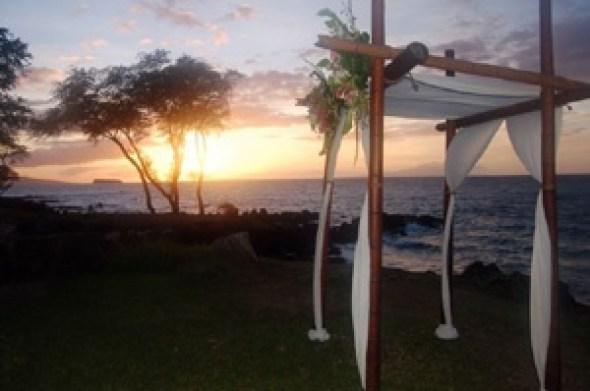 Hawaiian Chuppah