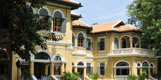Yellow mansion in Old Phuket Town