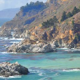 The rugged Big Sur Coastline along California's Highway One.