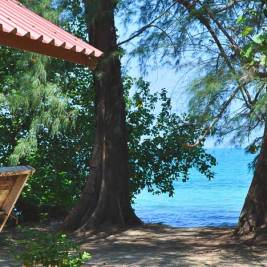 Seaview from Full Moon Bungalows at Koh Chang Noi (Andaman Sea side)