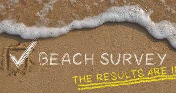 Beach survey results on which beach features and characteristics are sought.
