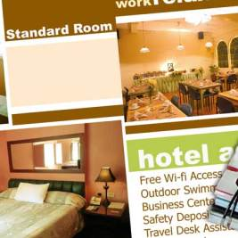 Hotel review of travel journalists with notebook and pen. Image by http://Beachmeter.com.