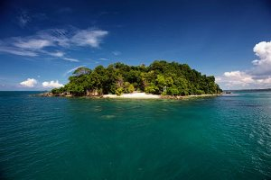 Koh Krabey Island in Cambodia