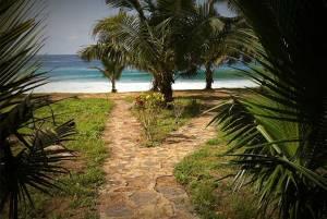 Hideout Lodge Butre Ghana sea view