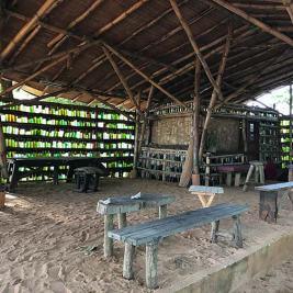 Beach bar Escape3Points Ecolodge