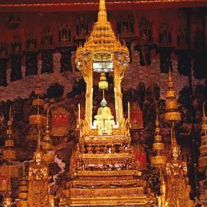 The Emerald Buddha in Thailand