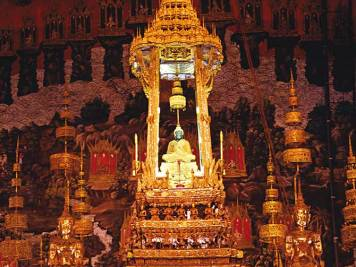 The Emerald Buddha in Thailand