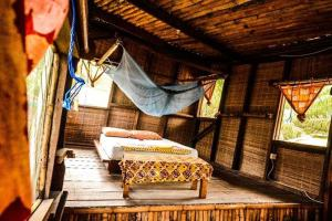 Room interior at Escape3Points Ecolodge Ghana