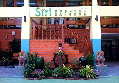 Exterior view of Siri Poshtel in Rattanakosin Bangkok