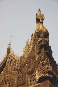 Myanmar's Bagaya Kyaung Monastery