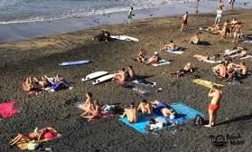 beach scene Gran Canaria