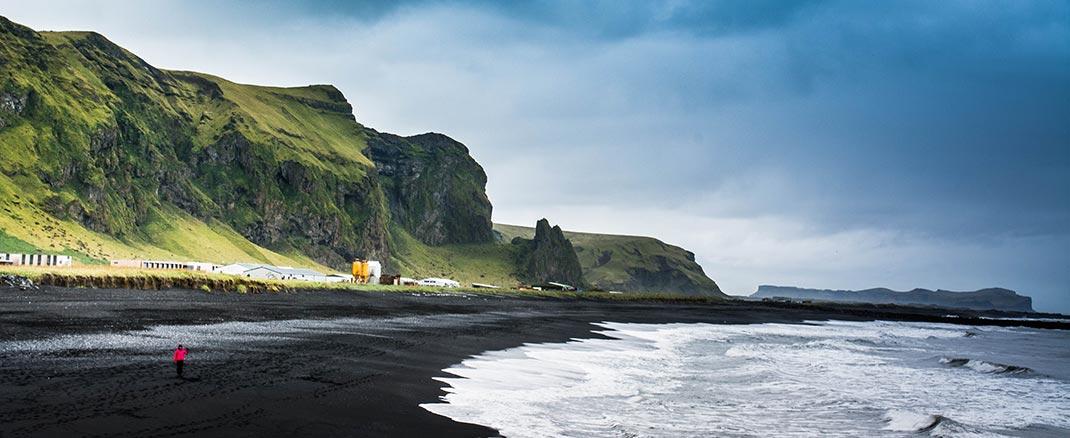 icelandic black beach
