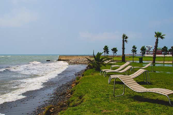 Anaklia Beach in Georgia (Black Sea)