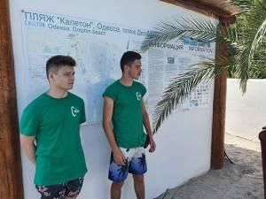 Staff from Odessa Beach in Ukraine