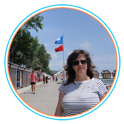 Victoria N. Radchenko, Head of the Board in Ecological Initiative NGO (Blue Flag, Ukraine)