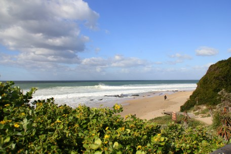 Beach Music, Beachfront Guesthouse, Jeffreys Bay, South Africa, winter day