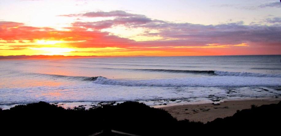 Beach Music, Jeffreys Bay, South Africa, Winter Morning waves