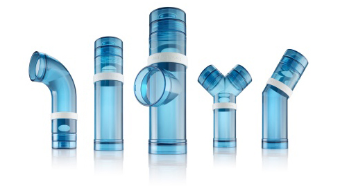 Water pipe bottles beach for Water pipeline design for home