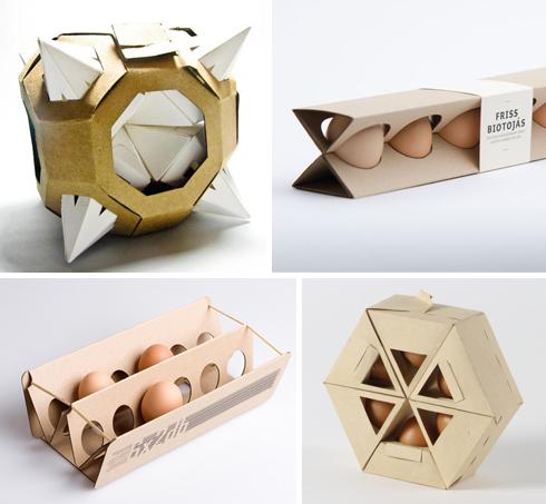 Polyhedral Egg Cartons