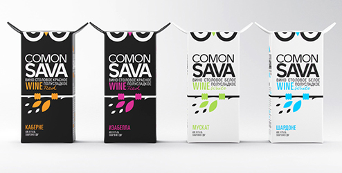Comon Sava Package Design