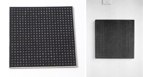"Randy Ludacer's ""Black Acoustical Tile"""