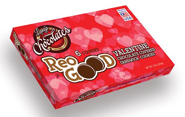 ReoGood Valentines cookies packaging design