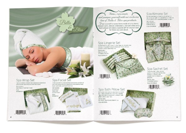 Scentsations catalog design spread-2-3