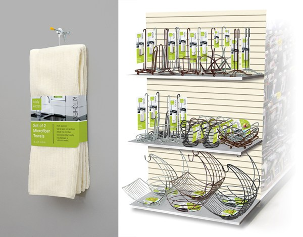 Totally Kitchen housewares packaging design