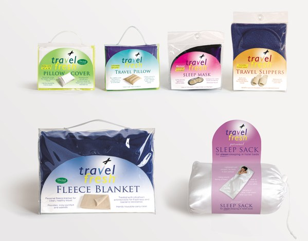 TravelFresh accessories packaging design