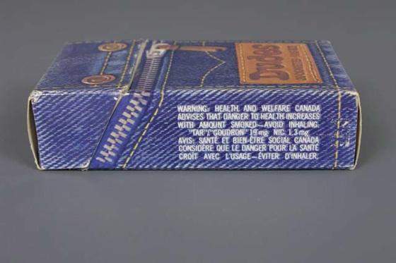 00063D  Dudes Cigarettes pack