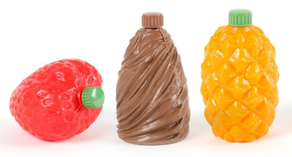 3FLipBottles fruit-shaped plastic bottles