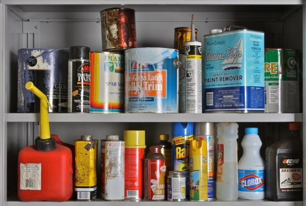 Household Hazardous Waste Packaging Still Lifes