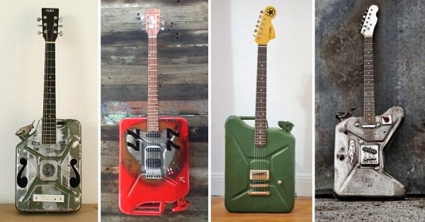 Kanistergitarren Jerrycan guitars